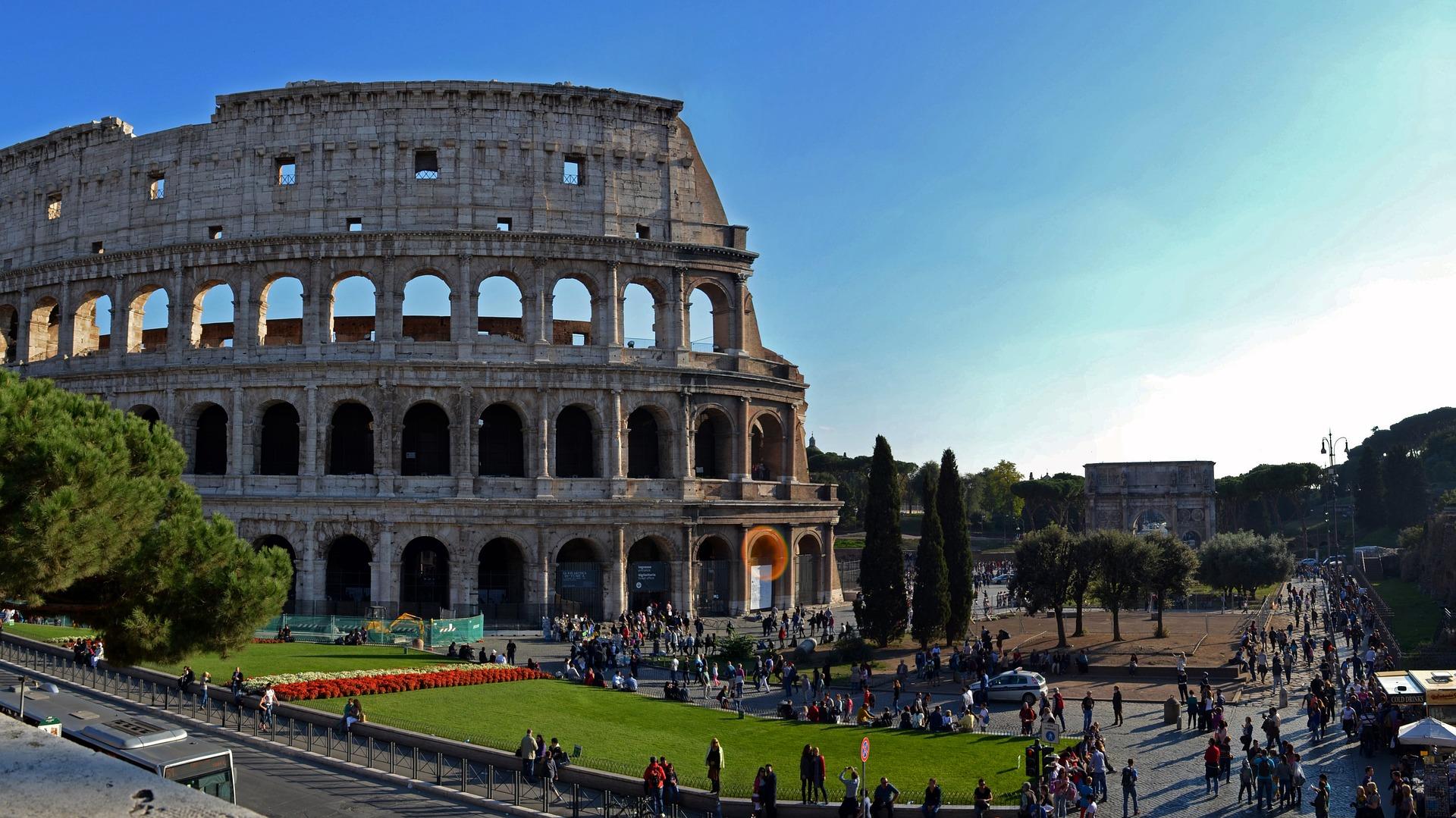 екскурзия в Италия, колизеум